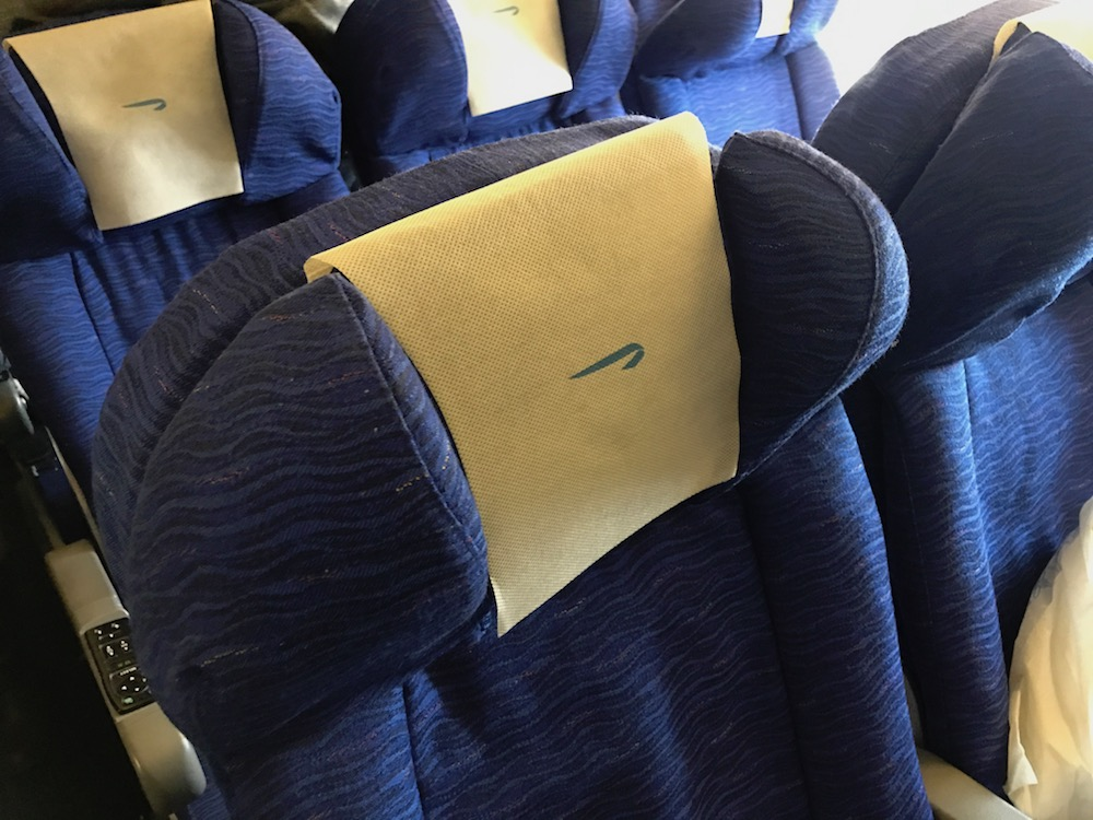 Gotta hand it to them on the headrests.