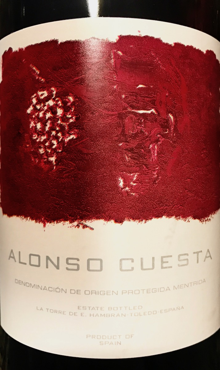 The 2012 Alonso Cuesta blended Garnacha, Cabernet Sauvignon, and Petit Verdot.