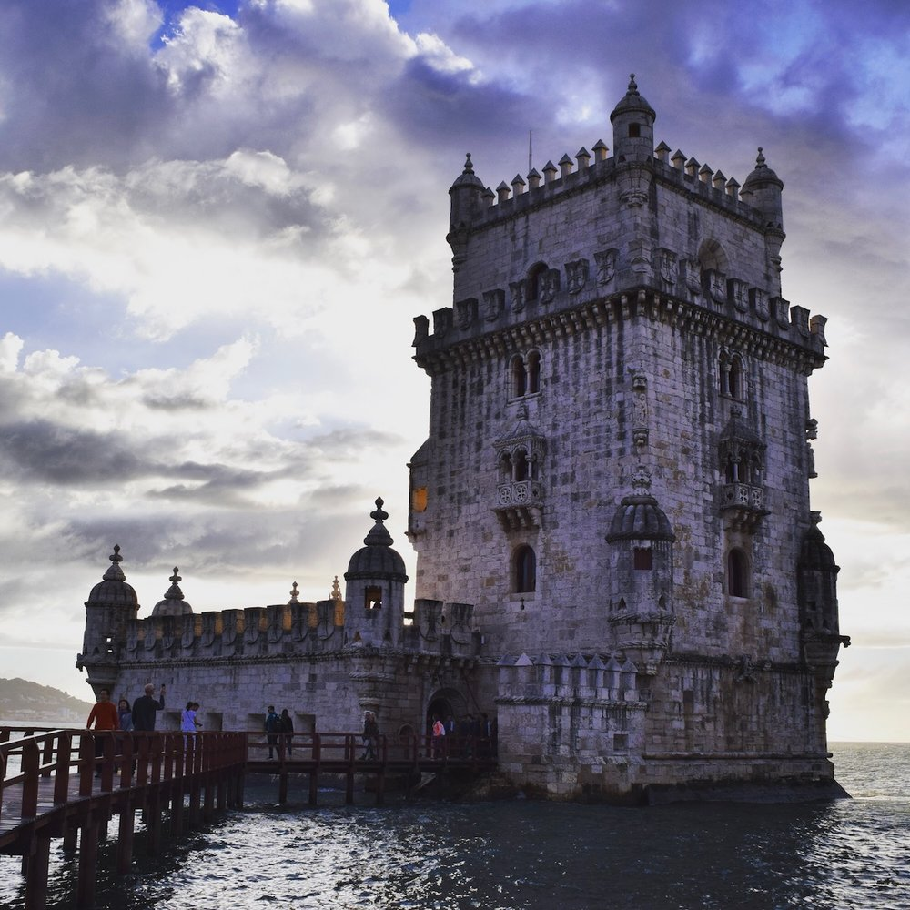 There is no site quite like that of Belém Tower at sunset.