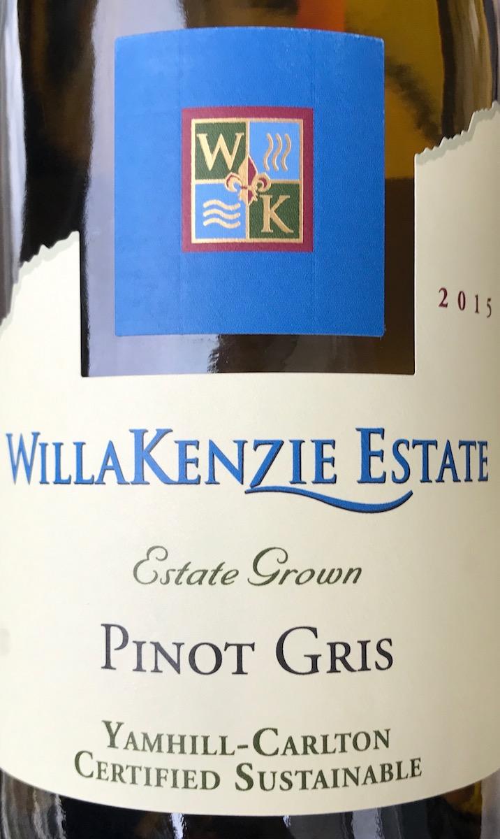 WillaKenzie Pinot Gris