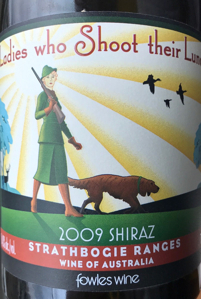 Ladies who Shoot their Lunch Shiraz