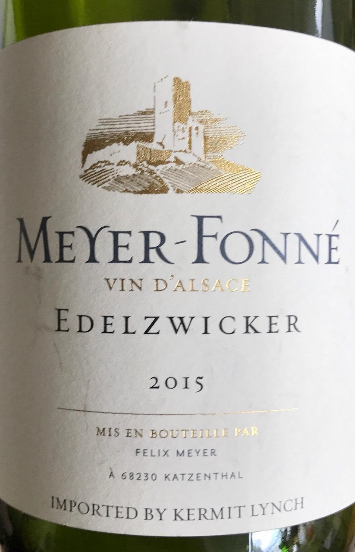 Meyer-Fonné Edelzwicker