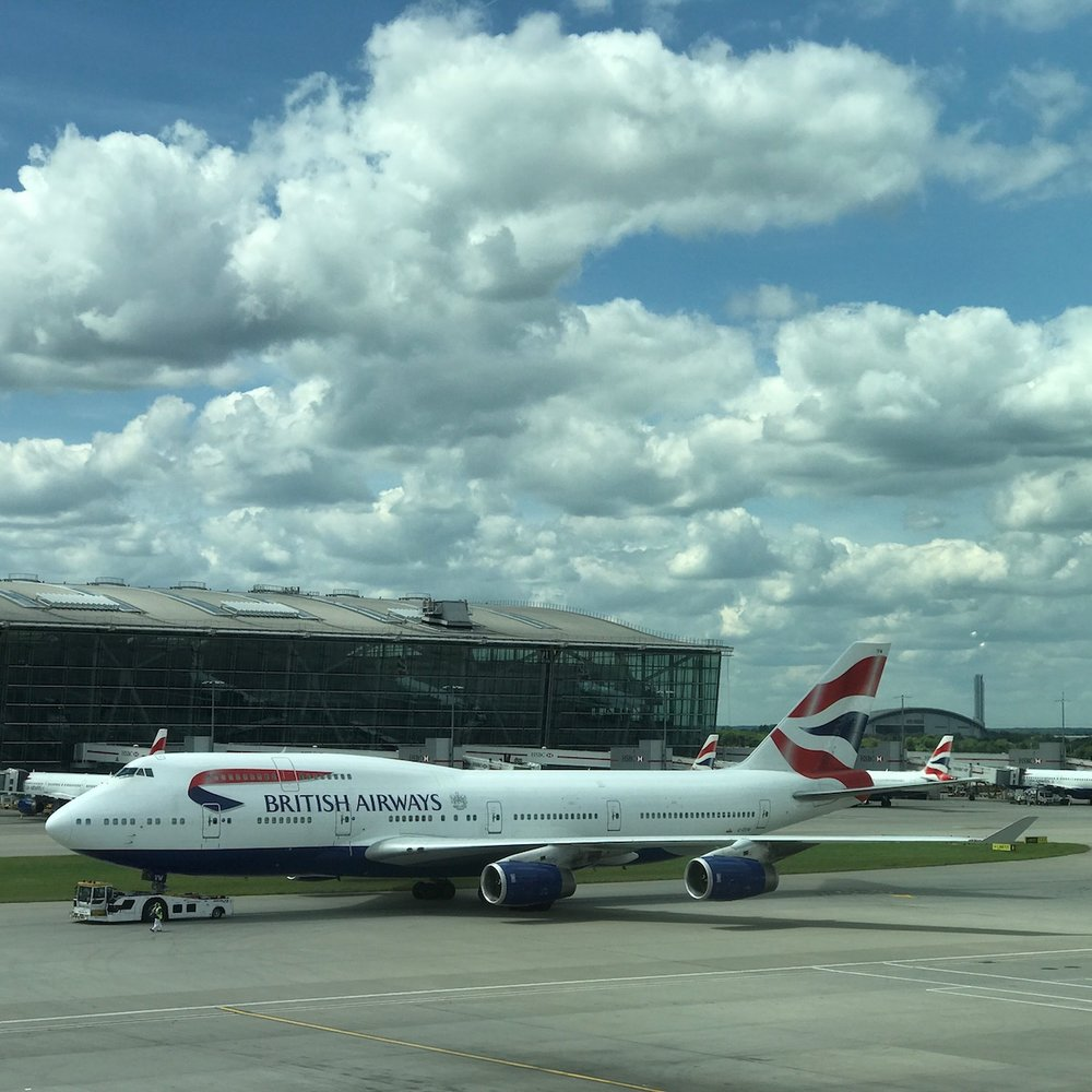 The Boeing 747 is a beautiful airplane, even after all these years, and nobody does the 747 like British Airways (who operates more than any other airline). Expect to see a constant parade of them at Heathrow.