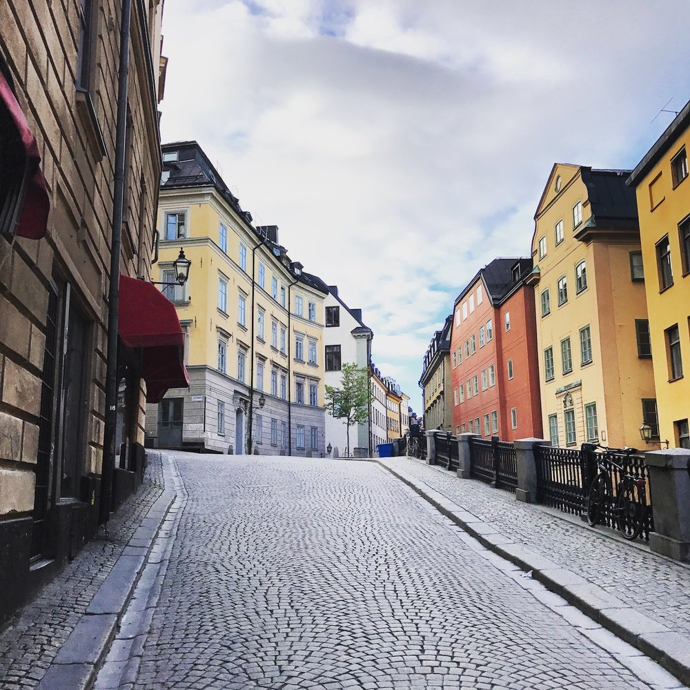 Meandering through Gamla Stan