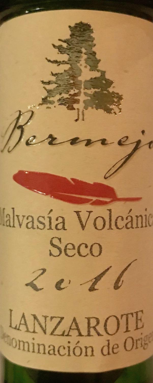 Bermejo Malvasía Volcánica