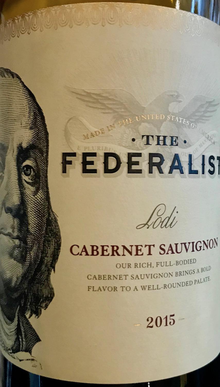 Federalist Cab Sauv