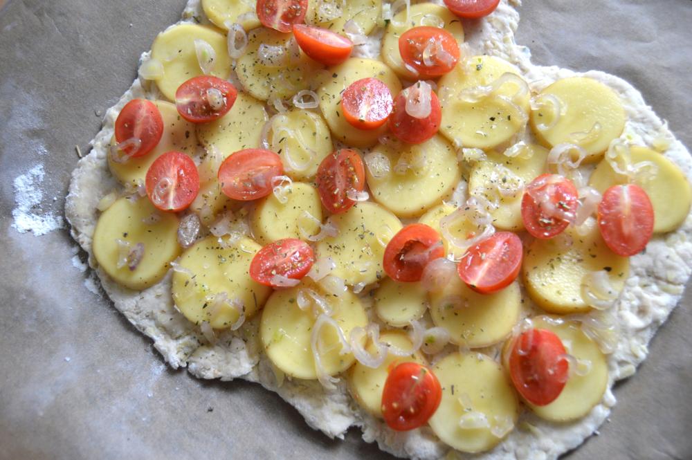 Kartoffel Focaccia