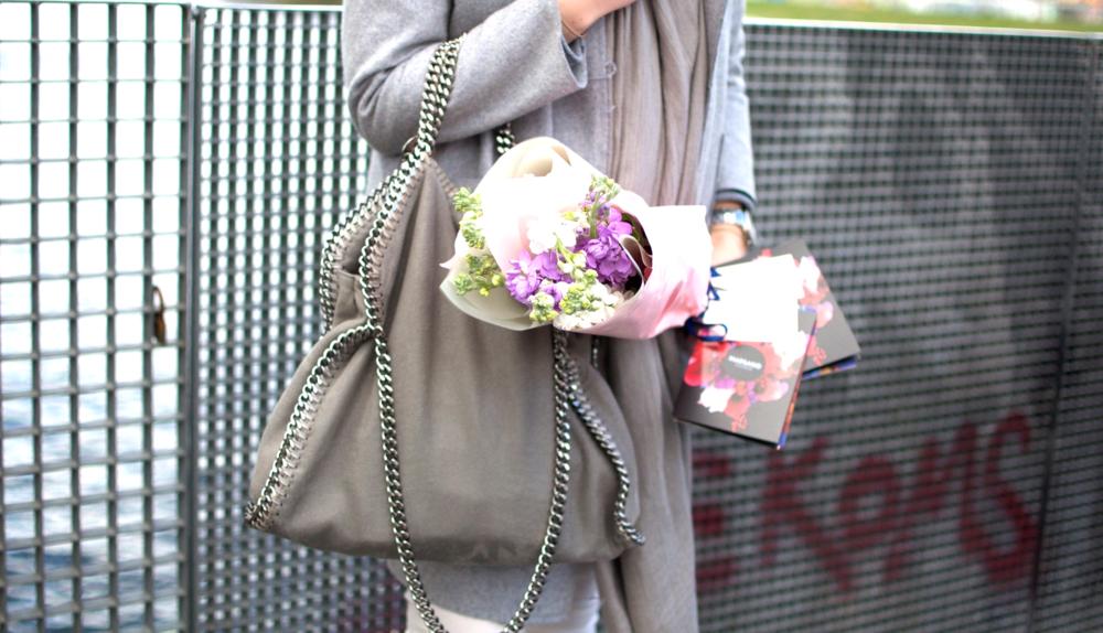 Stella McCartney Falabella Bag Flowers