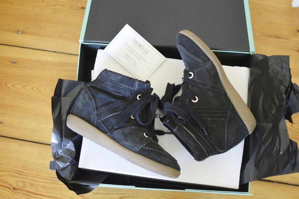 Preloved Bobby Sneakers Isabel Marant