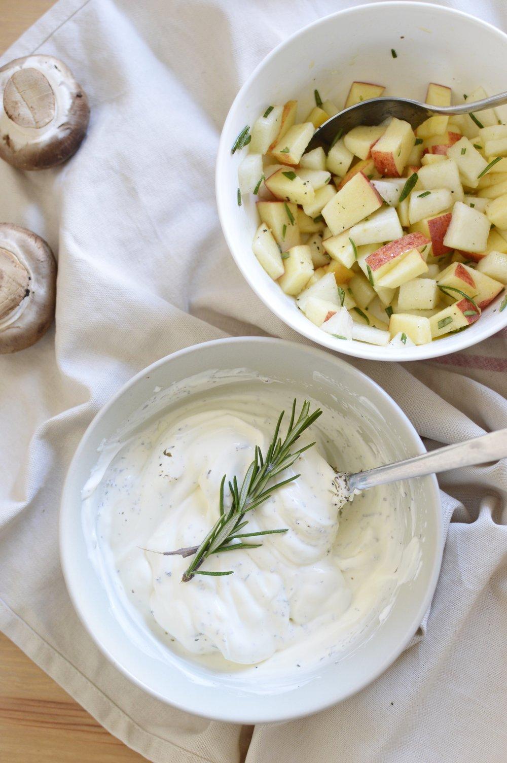 Herbstliche-Lunchbowl-Inspiration-Süßkartoffel-Rosenkohl