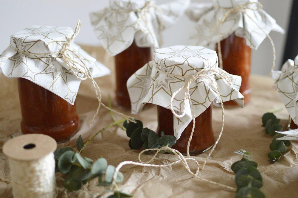 Rezept-Birnen-Tomaten-Chutney-Selbstgemacht-Last-Minute-Weihnachtsgeschenke