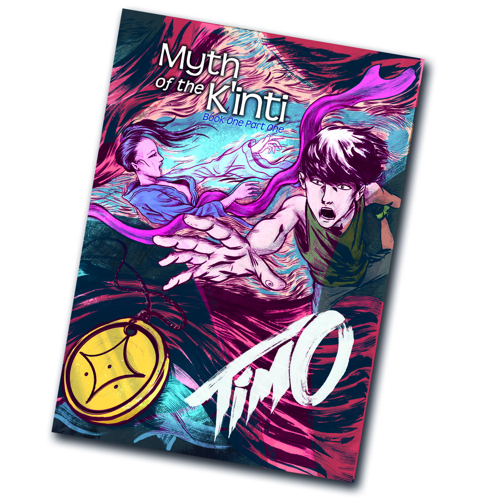 Myth of the K'inti: Timo. Book one, Part one of a series of comic books. High quality full colour print version  ON SALE NOW  & at the  Kindle Store