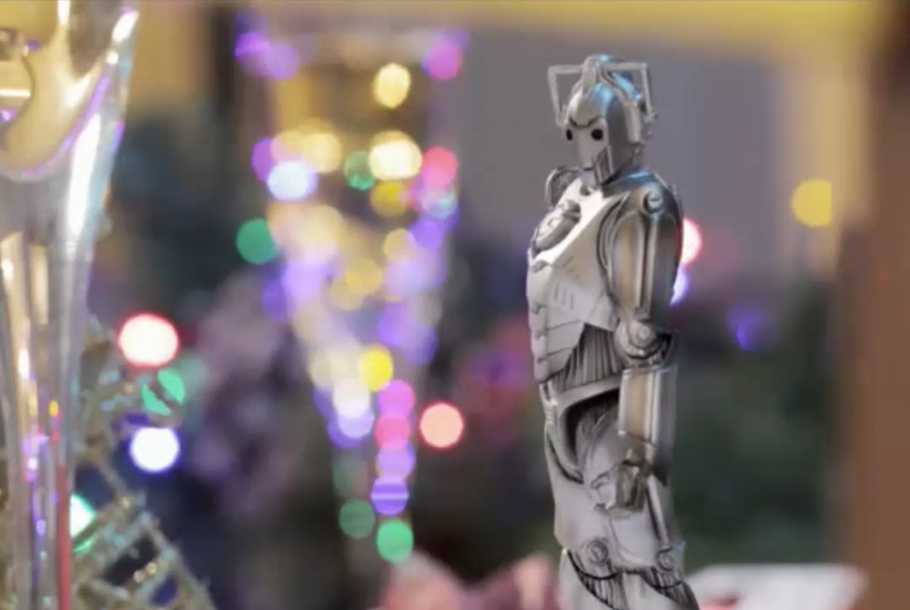 The Christmas cyberman