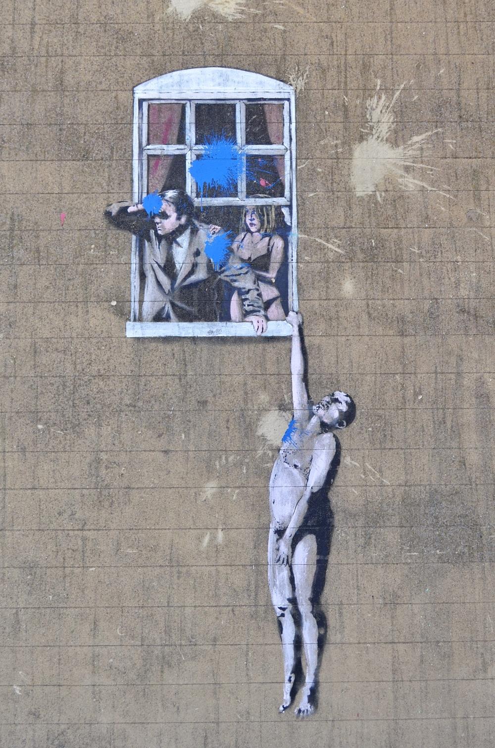 Banksy Art Park Street Bristol