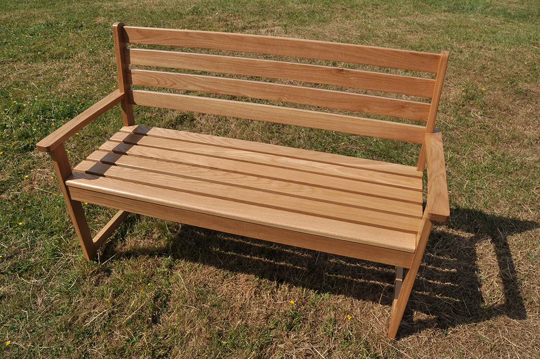 bench outside.  Outside Bench Beuzeval Furniture