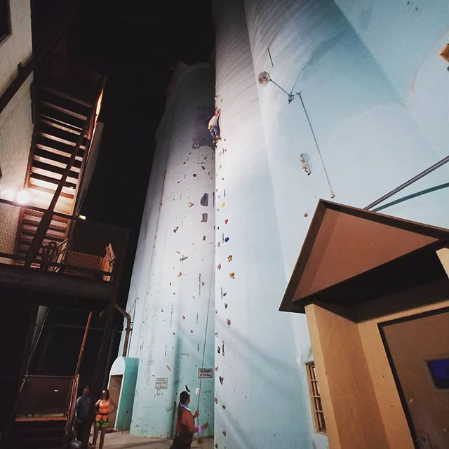 We have some more outdoor routes open tonight. Check them out! #lightsoutclimbing #climbokc #climboklahoma #climbing