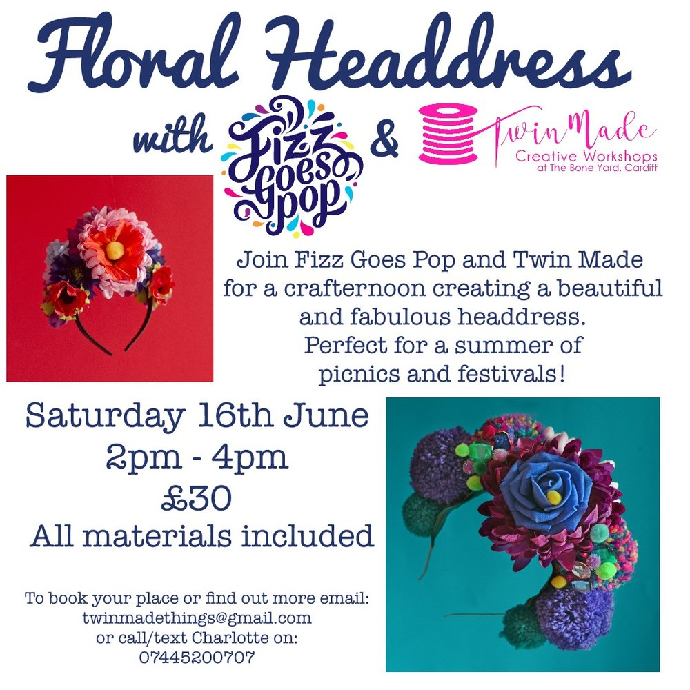 Floral Headdress Workshop
