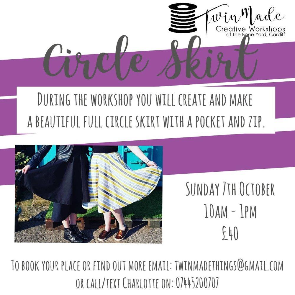 Circle Skirt Workshop