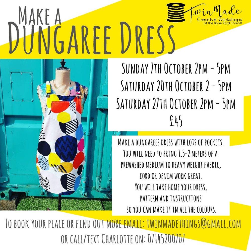 Dungaree Dress Making Workshops
