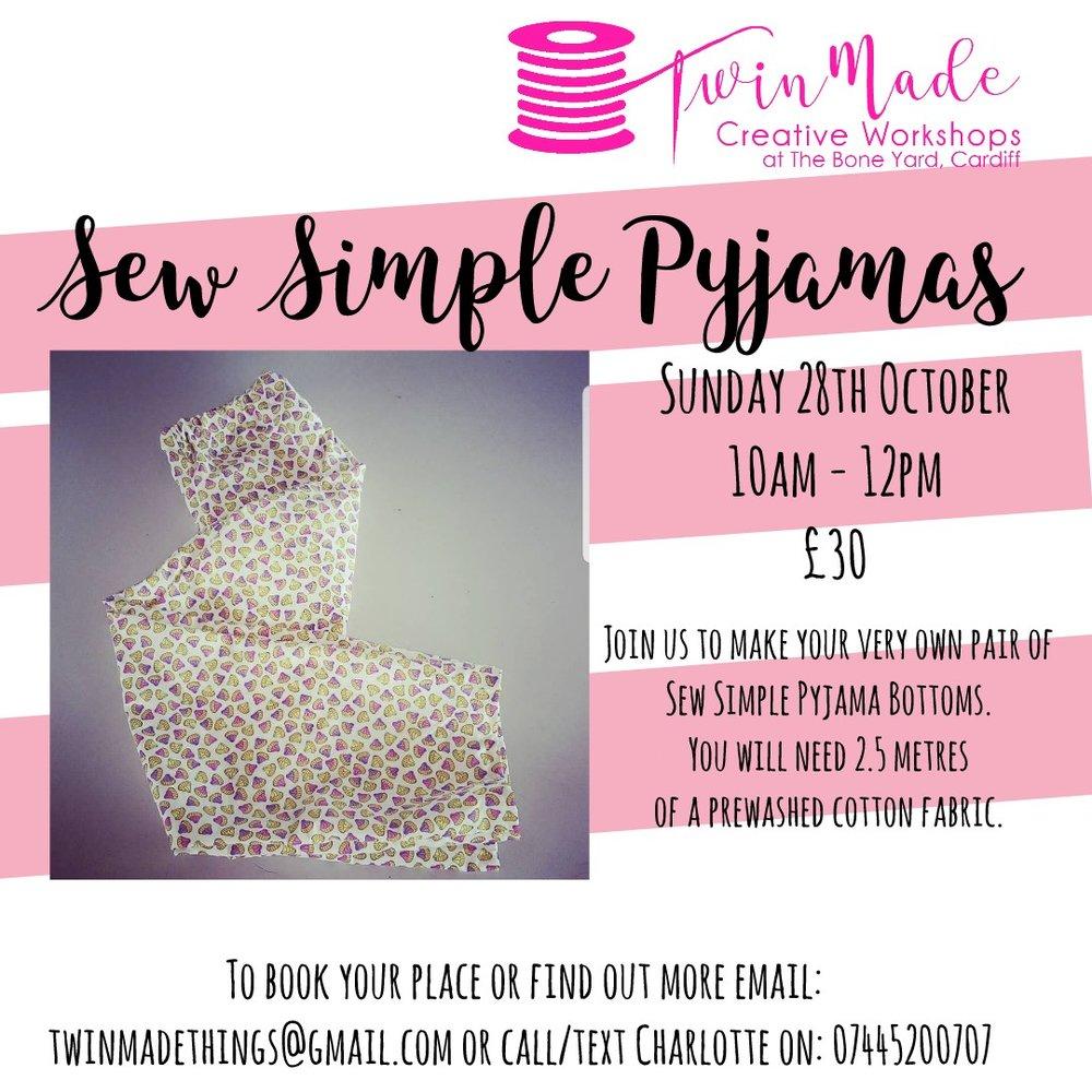 Sew Simple Pyjamas