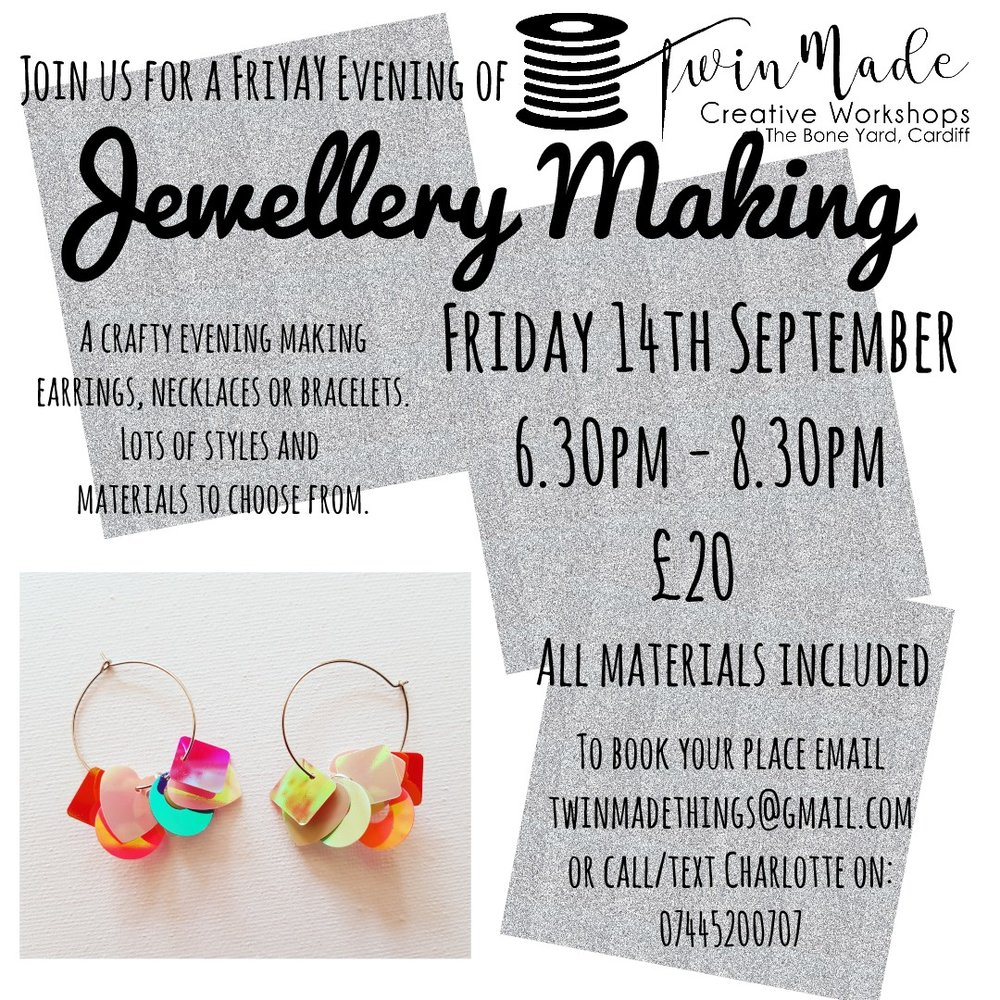 Jewellery Making with Twin Made