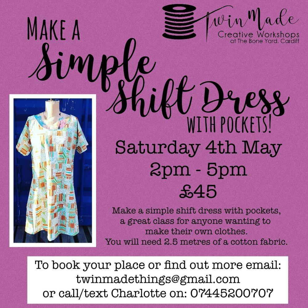 Simple Summery Shift Dress