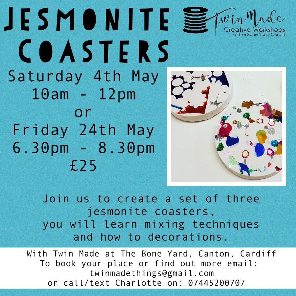 Jesmonite Coasters