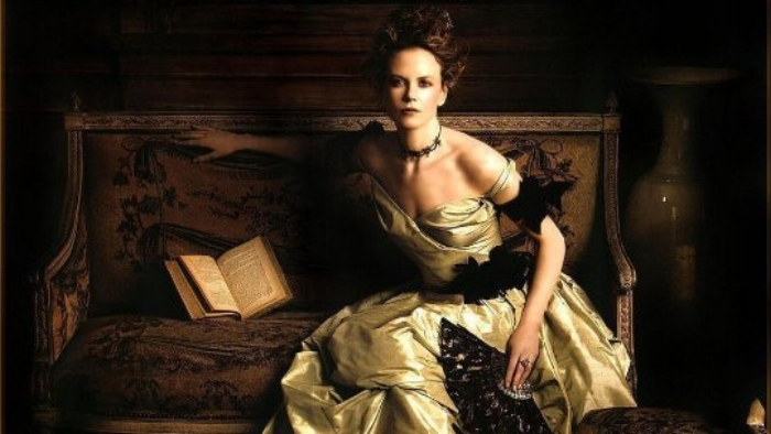 Nicole Kidman as Isabel Archer from  The Portrait of a Lady  (1996).