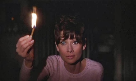 Audrey Hepburn received her fifth and final Best Lead Actress Oscar nomination for Wait Until Dark (1967, Young).