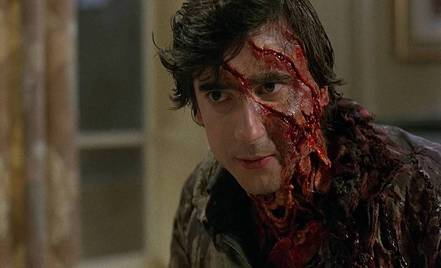 An American Werewolf in London (1981, Landis) scored the first-ever competitive victory in Best Makeup at the Oscars.