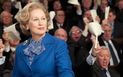 Meryl Streep garnered her 17th Oscar nomination and third win for The Iron Lady (2011, Lloyd).