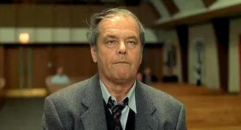 Jack Nicholson garnered his 12th Oscar nomination for  About Schmidt  (2002, Payne).