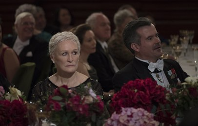 Will 2018 (at last!) find the incomparable Glenn Close achieving Oscar glory with  The Wife ?