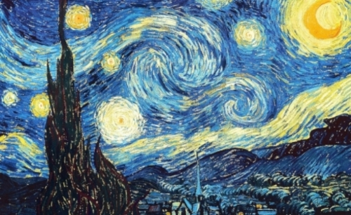 The Starry Night (1889) Vincent vanGogh