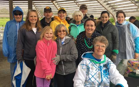 First Lutheran's 2017 NAMI Walk Team