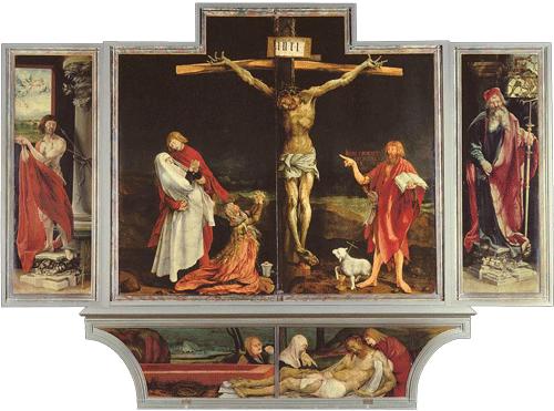 Isenheim Altarpiece, Matthias Grünewald, c 1512-1516
