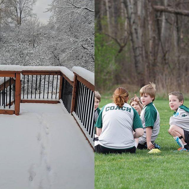 April 2018 vs 2017 ...