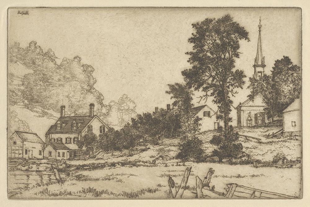 Ernest Haskell, Kennebec Homestead
