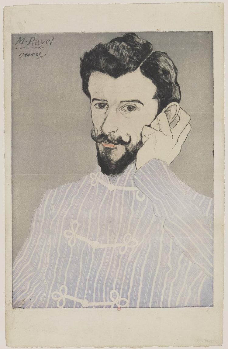 Achille Ouvré, Maurice Ravel