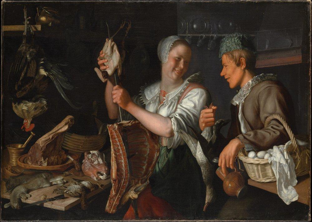 Peter Wtewael, Kitchen Scene