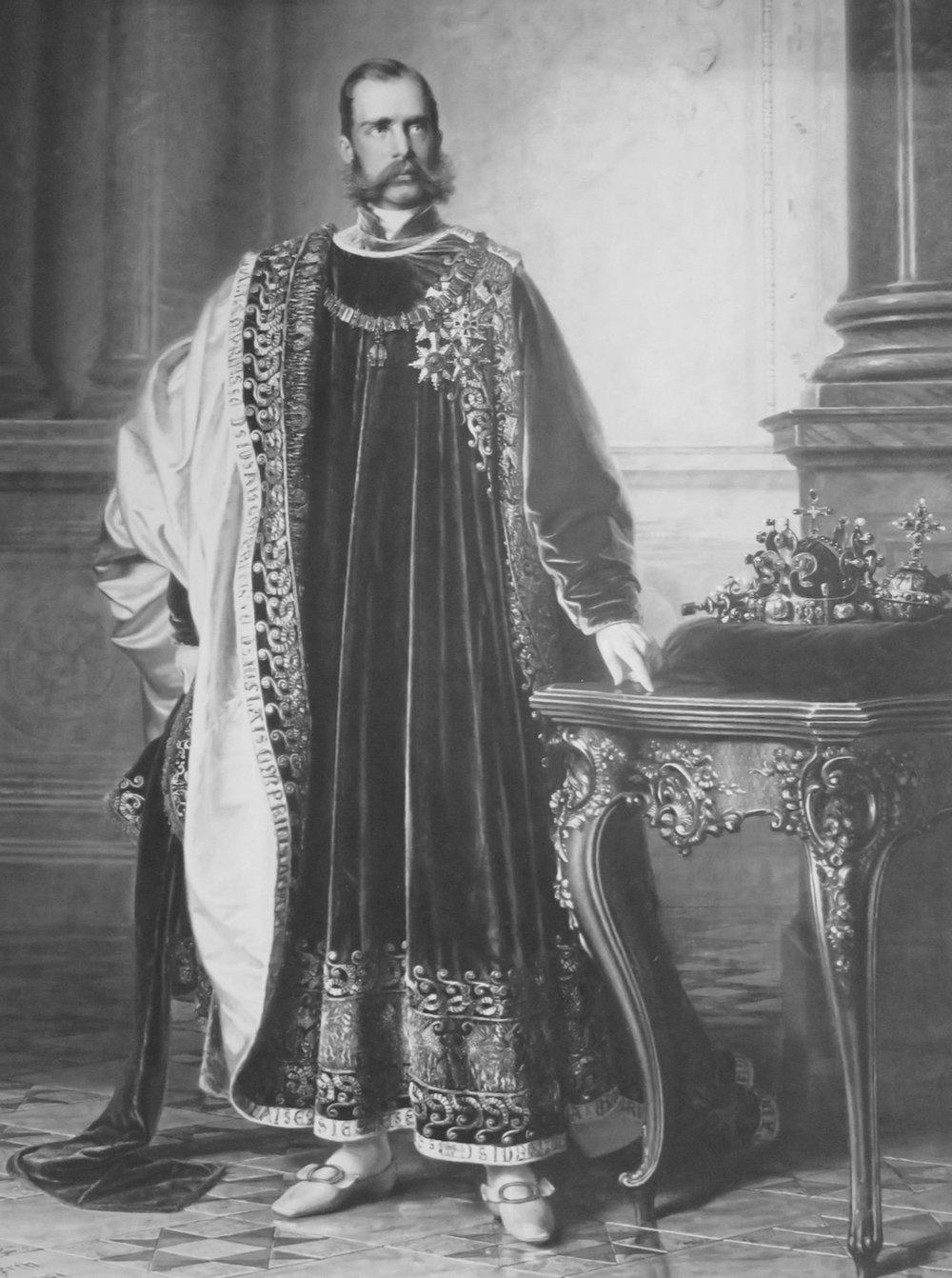 Eduard von Engerth,Franz Joseph I