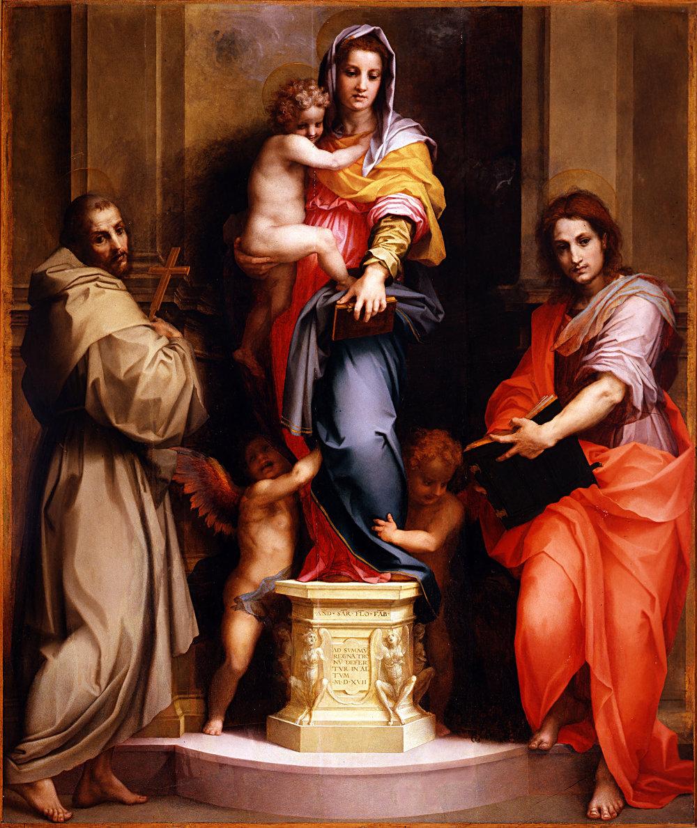 Andrea del Sarto, Madonna of the Harpies