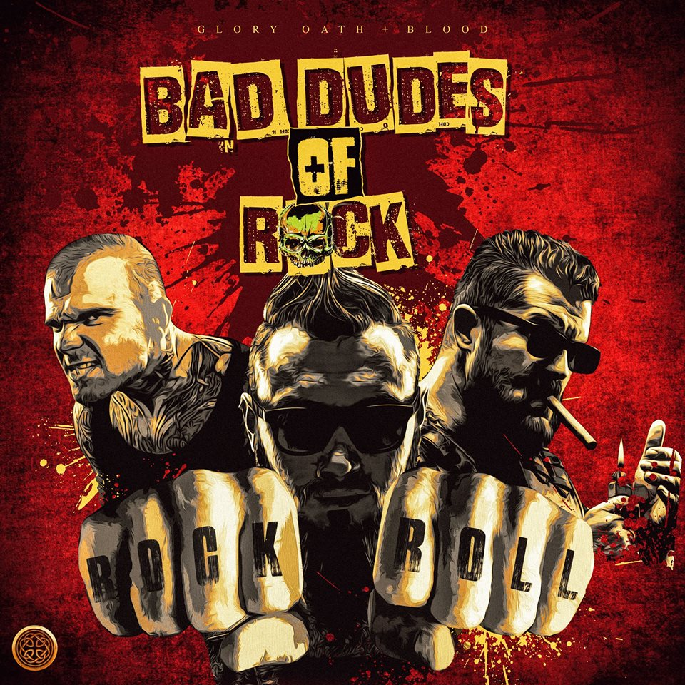GOB023 Bad Dudes Of Rock   Tracks: Jump the Gun, Sweet and Lowdown