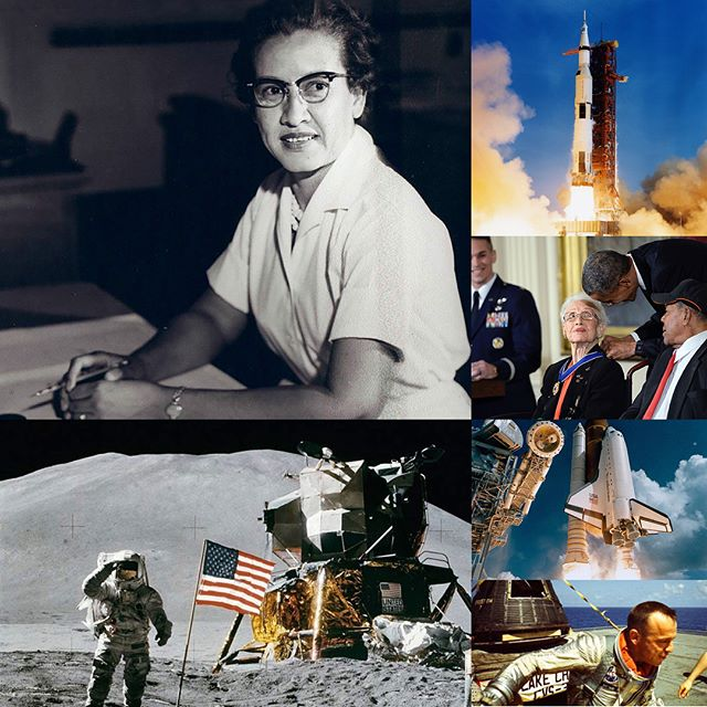 """1st Edition - Profiling and celebrating the life and contributions of 20 female scientists and pioneers of the scientific community. Number 11 - Physicist and mathematician Katherine Johnson, born in 1918, in West Virginia. From an early age Katherine showed a talent for mathematics.  By the age of 14 she entered college and enrolled in every math course and was mentored by some of the great minds at the college.  By 1937 Katherine graduated at the top of her class. In 1958 Katherine began working for NASA and by May 5th, 1961 she was instrumental in doing the calculations to get the first American, Alan Shepard, into space and back safely.  That's right, the birth of space travel rested in Katherine Johnson's brilliant brain!  When NASA adopted electronic computers they called on Katherine to verify the accuracy of those computers.  John Glen, the first American to orbit Earth, demanded that Katherine verify the computer's numbers or else he would not fly.  Keeping in mind this all happened during a time in US history when African-Americans were segregated from their white counterparts and women and people of color were seen as inferior to whites and men. In 1969 Katherine was instrumental in calculating the trajectory for the Apollo 11 mission which saw the first human land on the Moon.  She also played a vital role in getting the Apollo 13 mission crew safely back to Earth after they had to abort their mission  because of a major problem with the capsule they were riding in, which is where the famous line, """"Houston, we have a problem"""" comes from. Throughout the rest of her career Katherine Johnson worked on the Space Shuttle program, the Earth Resources Satellite, and even planned missions to Mars.  In 2015, president Barack Obama awarded Katherine Johnson the Presidential Medal of Freedom for her pioneering achievements of African-American women in STEM, and for being a true American treasure.  The highest honors go to Katherine Johnson as an amazing inspiration"""