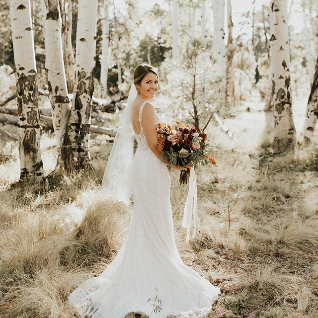 @clothandflameweddings always provides the best settings! I mean just look at these aspen trees 😍PC: @kayfishyyy