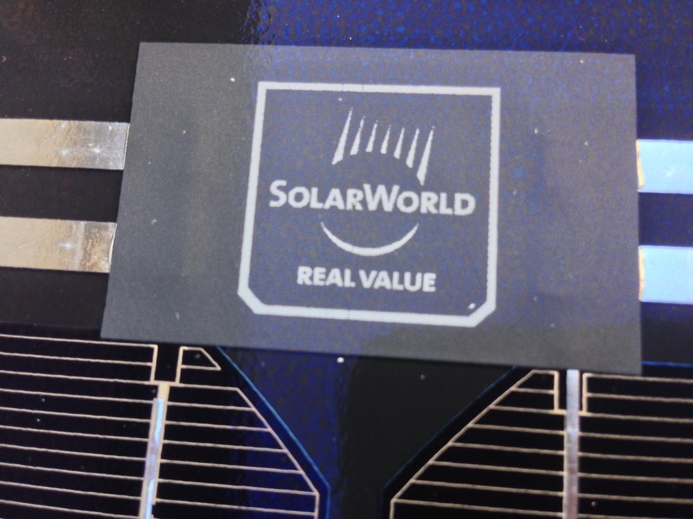 solar world solar panel for tiny house