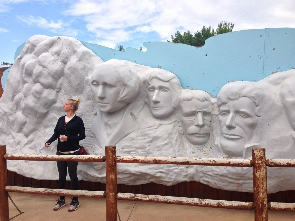 Another Mount Rushmore photo op!