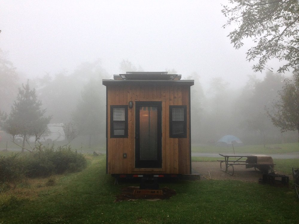 Tiny Solar House Foggy VA Park