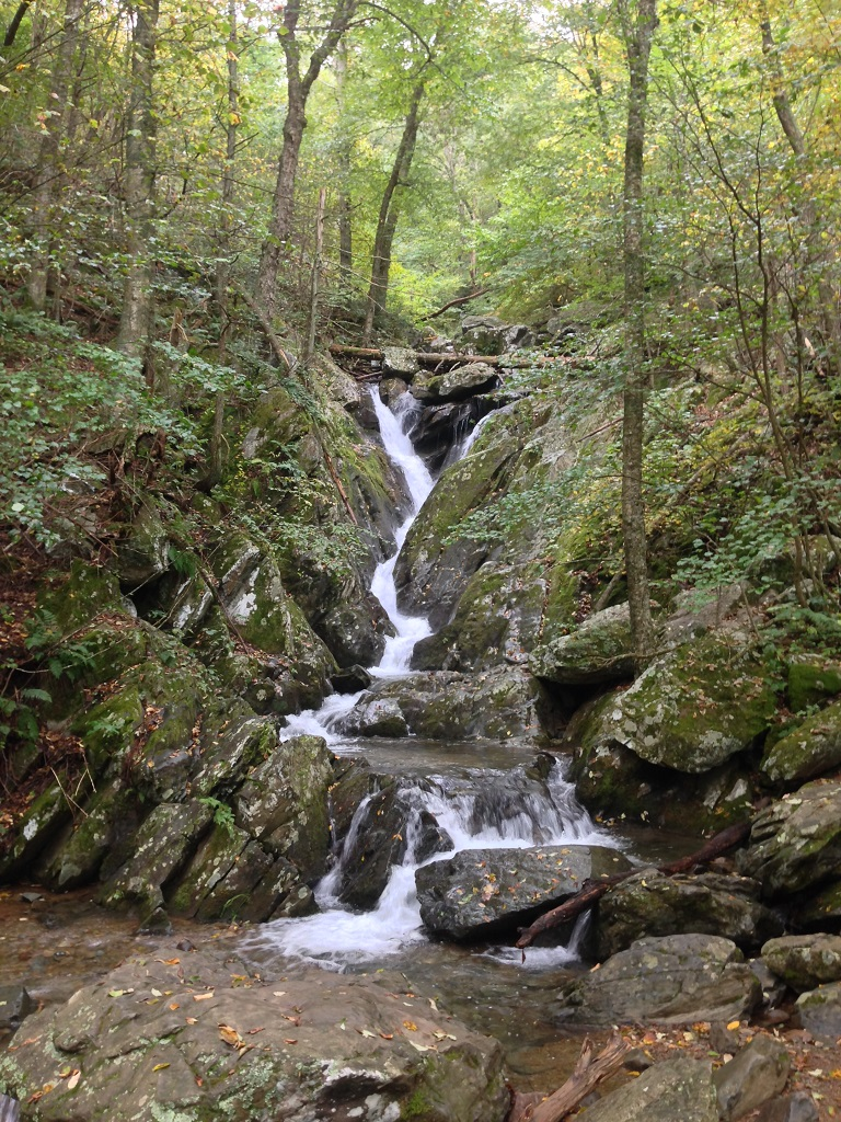 Shenandoah National Park waterfalls