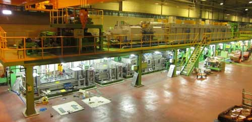 Tension Annealing Line